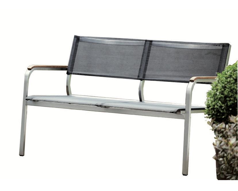 Jan Kurtz - Lux XL Lounge Bank - 2-Sitzer - schwarz - 1