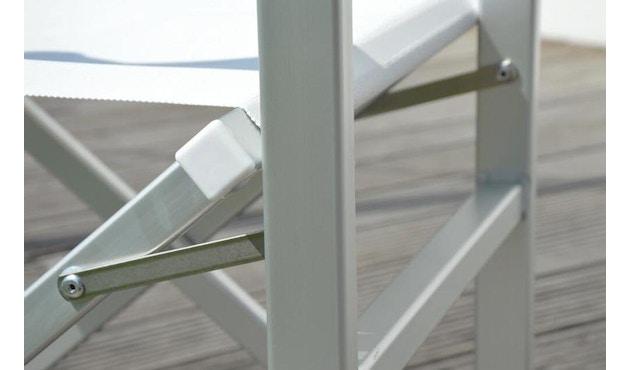 Jan Kurtz - Rimini Regiestuhl - Gestell eloxiert - weiß - 1