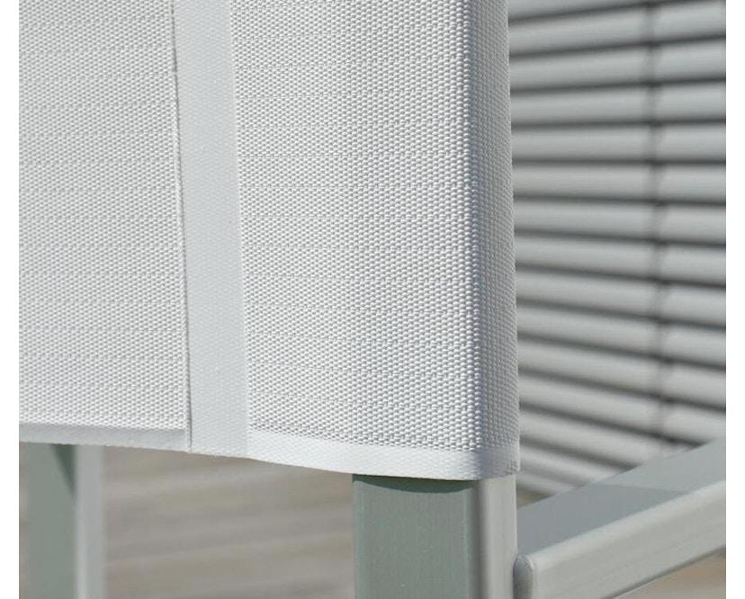 Jan Kurtz - Rimini Regiestuhl - Gestell eloxiert - weiß - 2