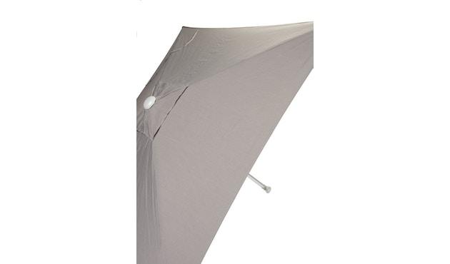 Jan Kurtz - Parasol Elba - rectangulaire - 200 x 200 cm - taupe - 0