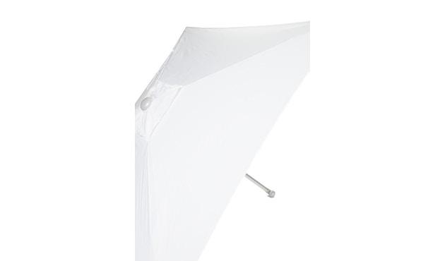 Jan Kurtz - Elba parasol - hoekig - 200 x 200 cm - wit - 0