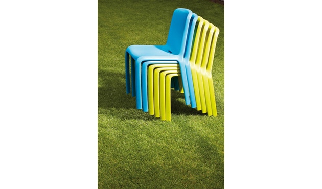 Jan Kurtz - Stuhl Snow - blau - Produktauslauf - 4