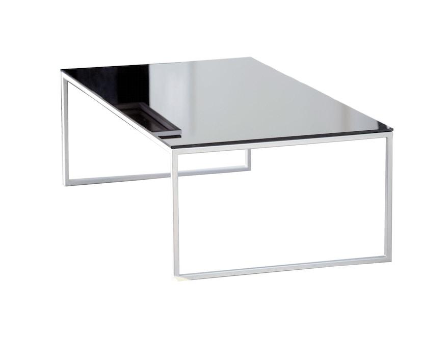 Jan Kurtz - Tisch Classico - mocca/weiß - 60x36x60 cm - 1