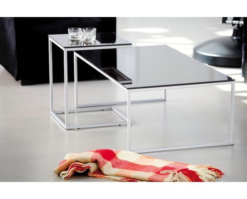 Jan Kurtz - Tisch Classico - rot/silber - 60x36x60 cm - 3
