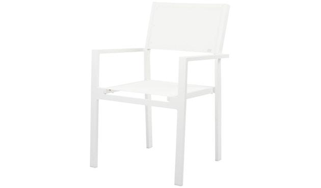 Jan Kurtz - Cubic Armlehnstuhl weiß-weiß - 3