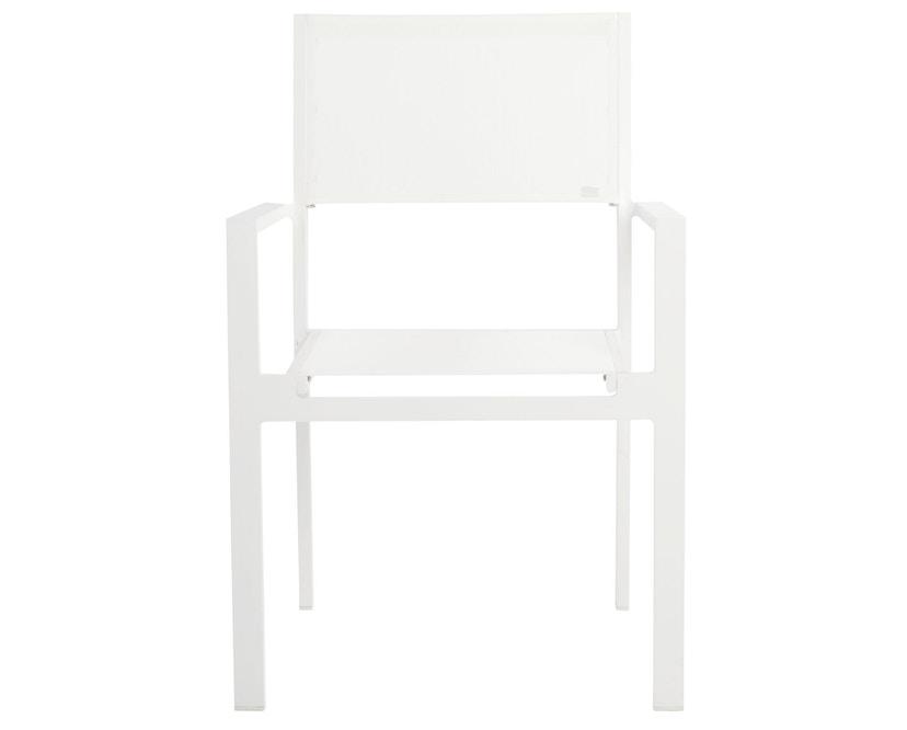 Jan Kurtz - Cubic Armlehnstuhl weiß-weiß - 4