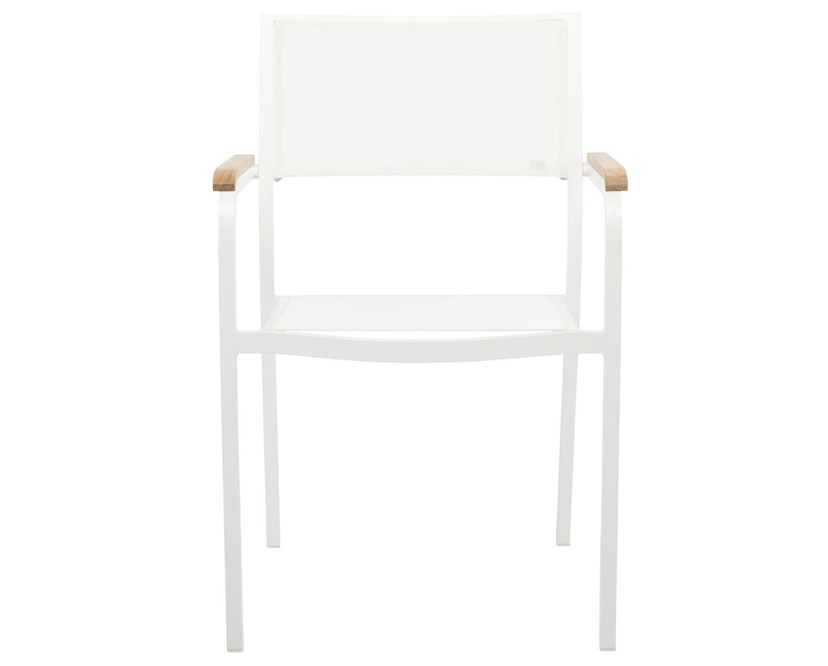 Jan Kurtz - Lux Alu Stapelsessel - weiß/weiß - weiß/weiß - 2