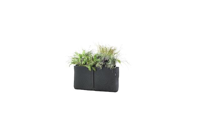 Bacsac - Blumenkasten 17L - zum Aufhängen - asphaltgrau - 4