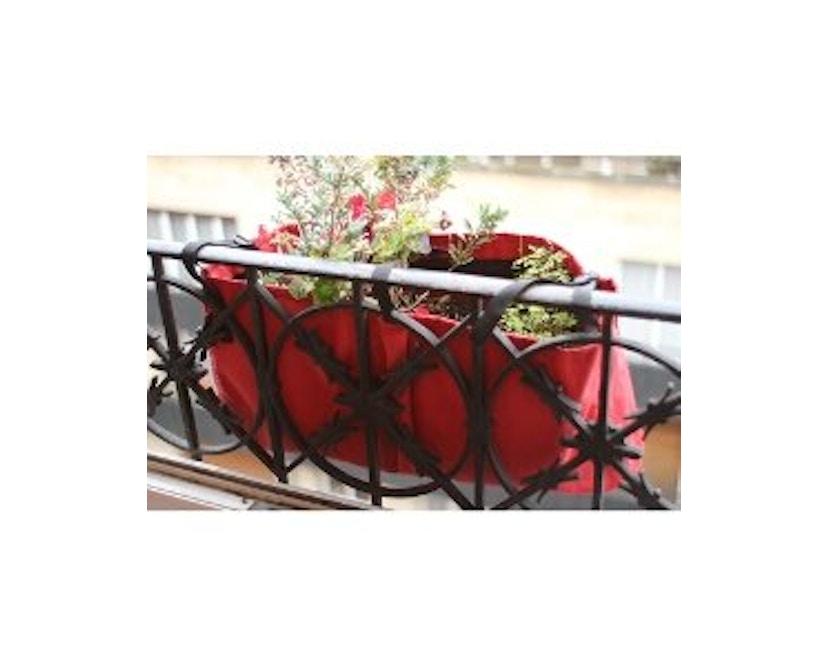 Bacsac - Blumenkasten 17L - zum Aufhängen - asphaltgrau - 6