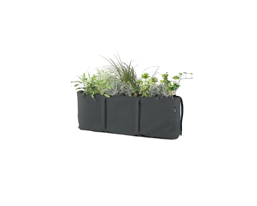 Bacsac - Blumenkasten 25L - zum Aufhängen - asphaltgrau - 4
