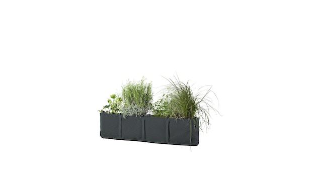 Bacsac - Blumenkasten 35L - zum Aufhängen - asphaltgrau  - 4