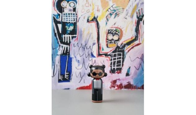 Jean-Michel Basquiat - Sketch.inc Kokeshi Figur -