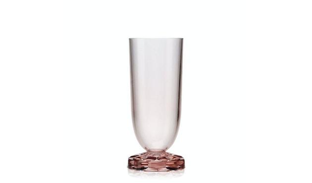 Kartell - Jellies Family - Champagner Glas - rosa - 1