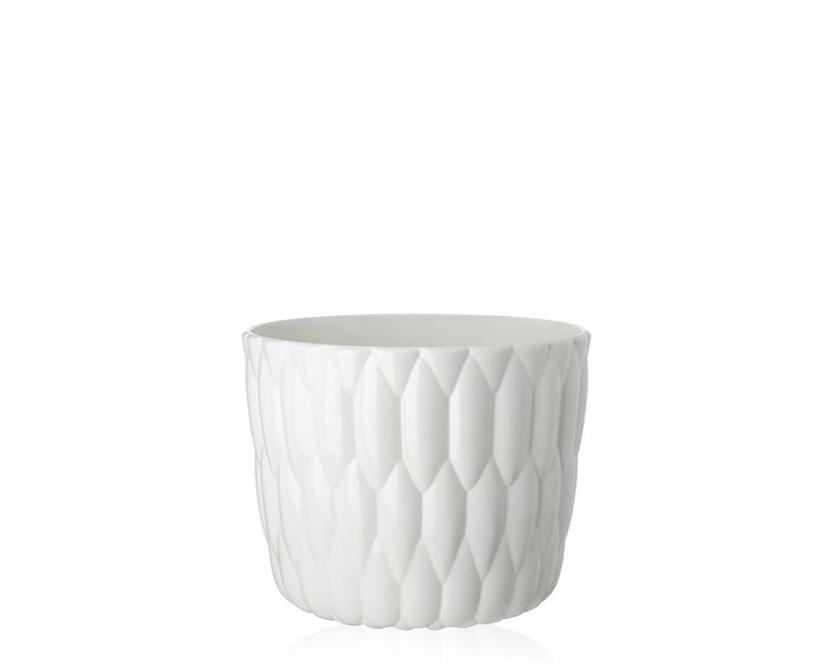 Kartell - Jelly Vase - glänzendes Weiß - 2