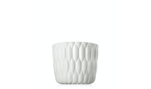 Kartell - Jelly Vase - glänzendes Weiß - 1