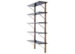 Artek - Kaari wandplank vijf planken - 4