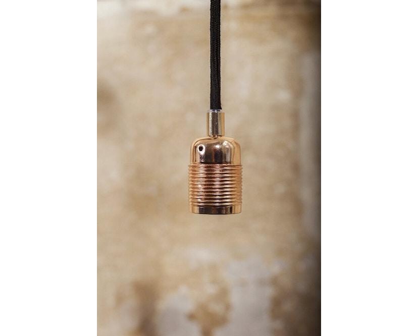 Frama - Kabel met fitting - E27 - zwart - koper - 2