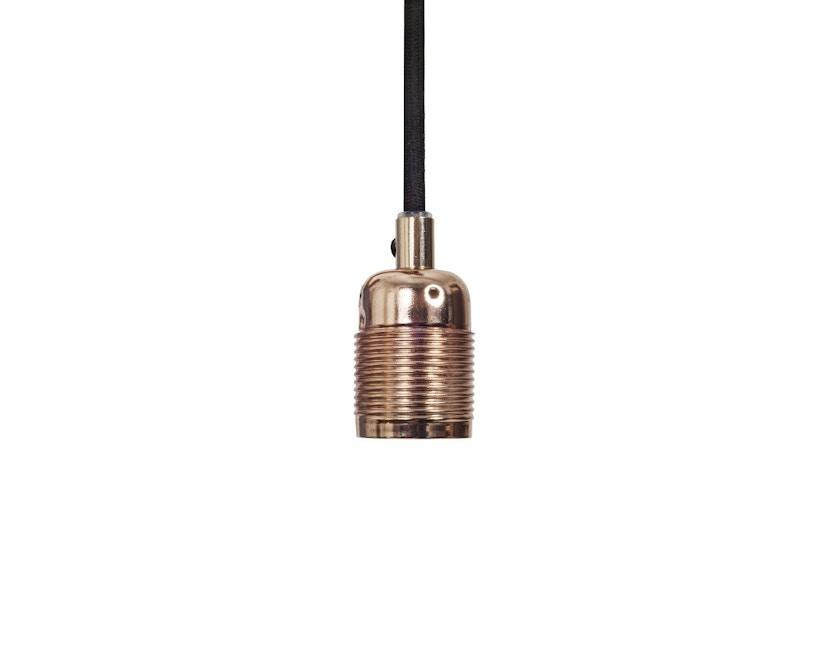 Frama - Kabel met fitting - E27 - zwart - koper - 1