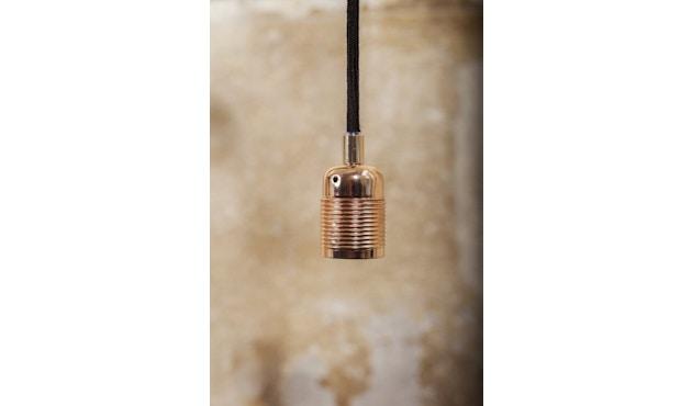 Frama - Kabel mit Fassung - E27 - copper brown-black - 2