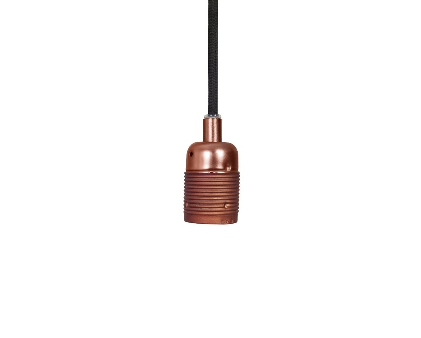 Frama - Kabel mit Fassung - E27 - copper brown-black - 1
