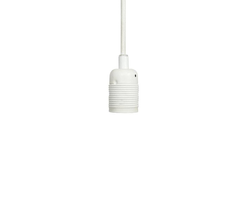 Frama - Kabel mit Fassung - E27 - matt white-white - 1