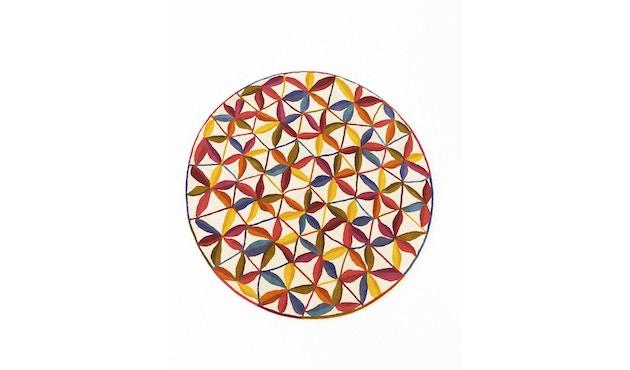 Nanimarquina - Kala Teppich - mehrfarbig - Ø 125 - 1