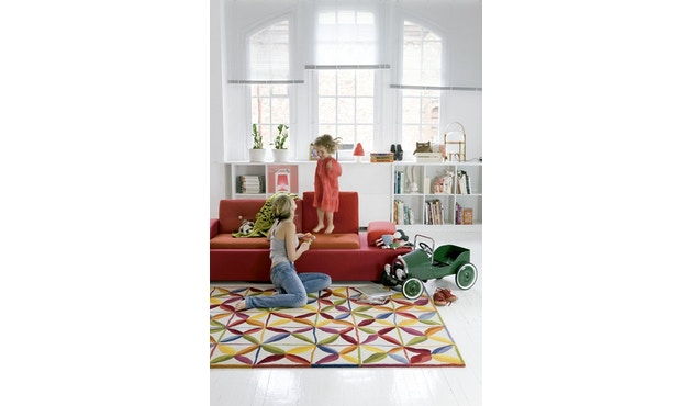 Nanimarquina - Kala Teppich - mehrfarbig - 155 x 220 - 2