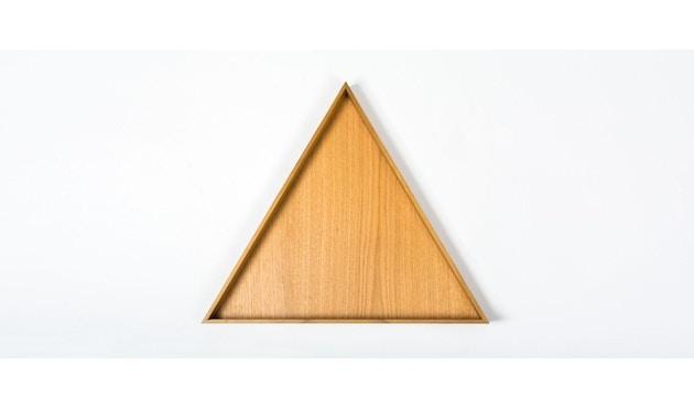 Conmoto - KARO Tablett  - groß - Eiche - natur - 1