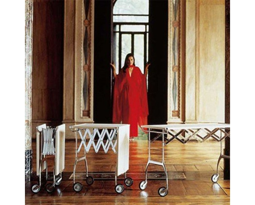 Kartell - Battista trolley - zwart - 10
