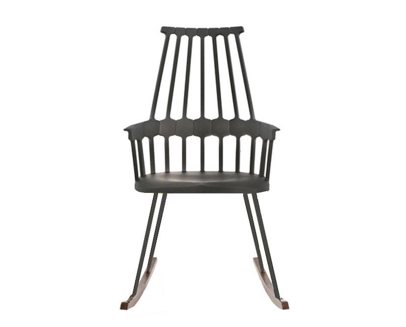 Kartell - Comback schommelstoel - wit/ eik - 1