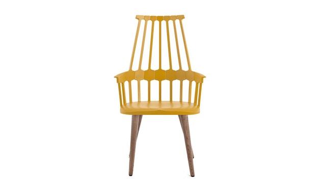 Kartell - Comback stoel - geel/ eik - 1
