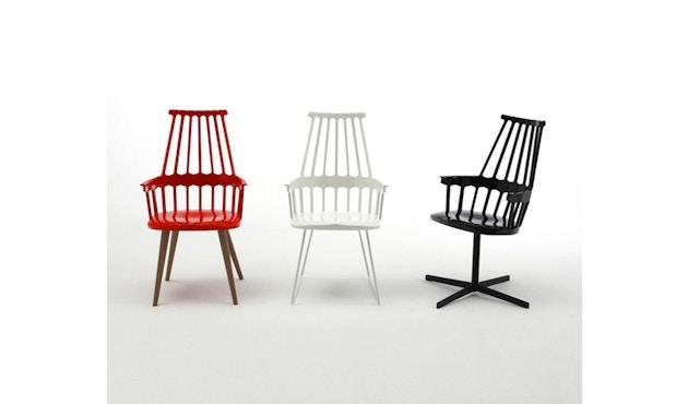 Kartell - Comback stoel - geel/ eik - 3