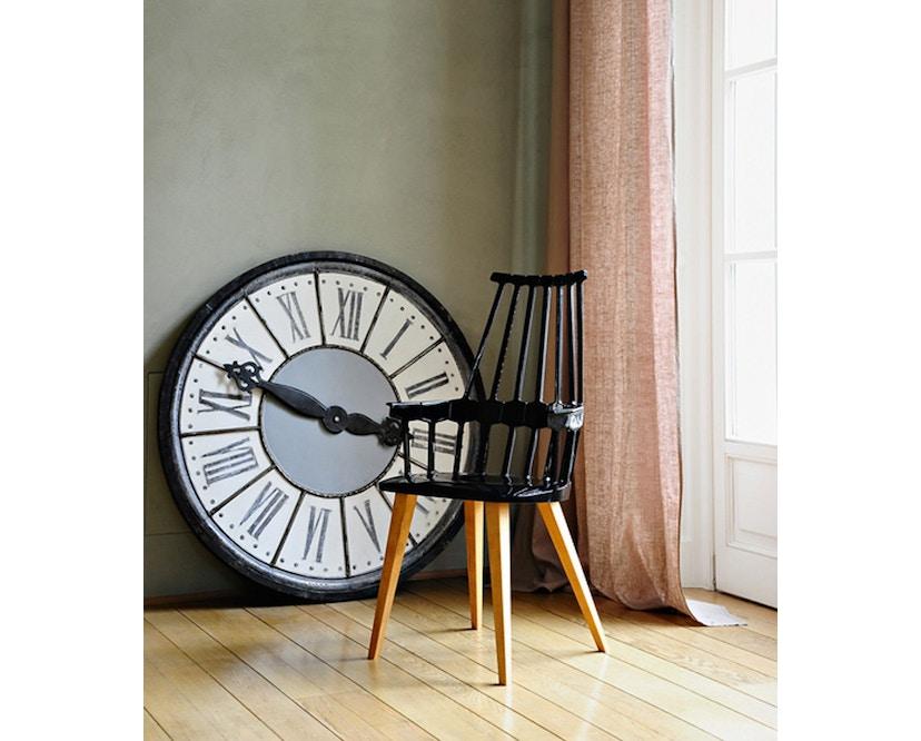Kartell - Comback stoel - geel/ eik - 6