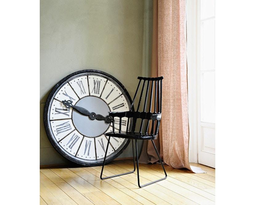 Kartell - Comback Stuhl mit Kufen - weiß - 3