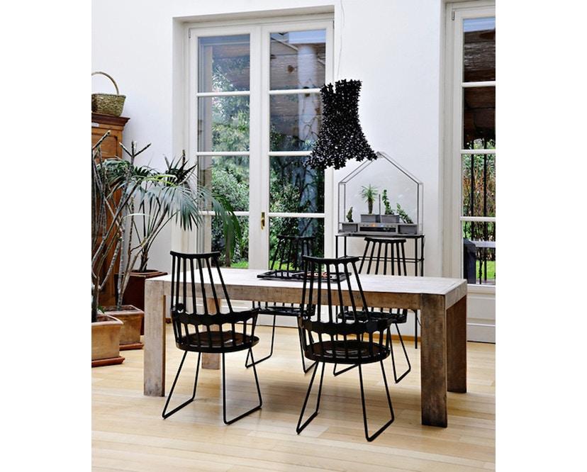 Kartell - Comback Stuhl mit Kufen - weiß - 4