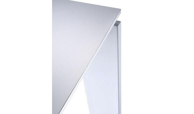 Kartell - Four Tisch M - weiß-Aluminium - 9