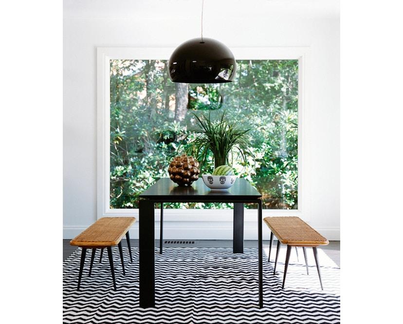 Kartell - Four Tisch M - weiß-Aluminium - 7