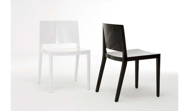 Kartell - Lizz stoel - hoogglans gelakt - oranjerood - 8