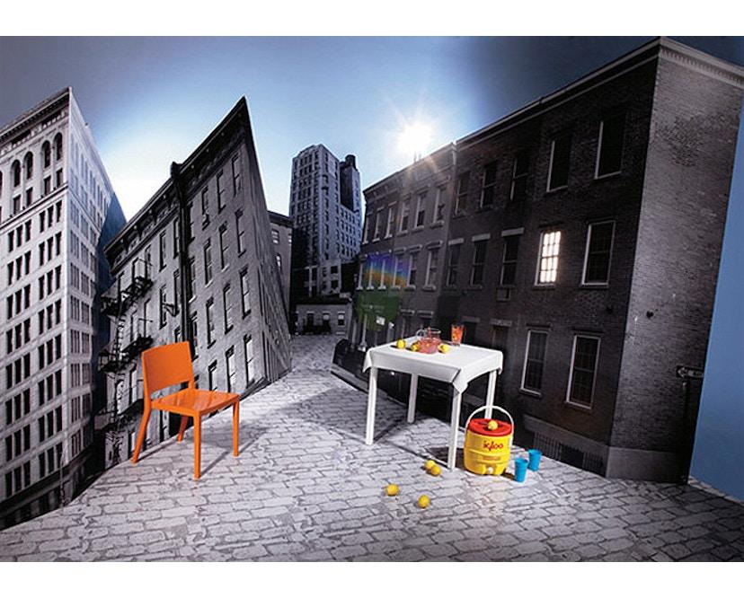 Kartell - Lizz stoel - hoogglans gelakt - oranjerood - 10