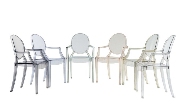 Kartell - Louis Ghost - transparant - 3