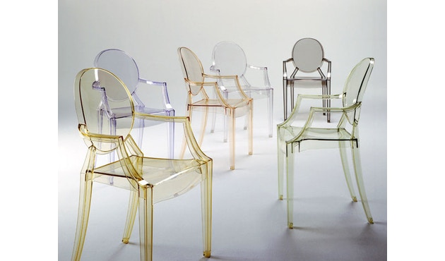 Kartell - Louis Ghost - transparent - 5