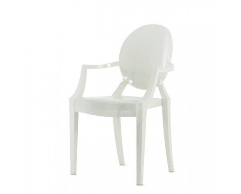 Kartell - Louis Ghost - weiß glänzend - 3