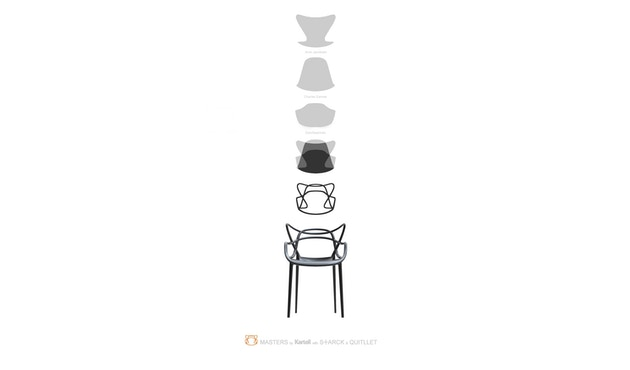 Kartell - Masters - gris - 9