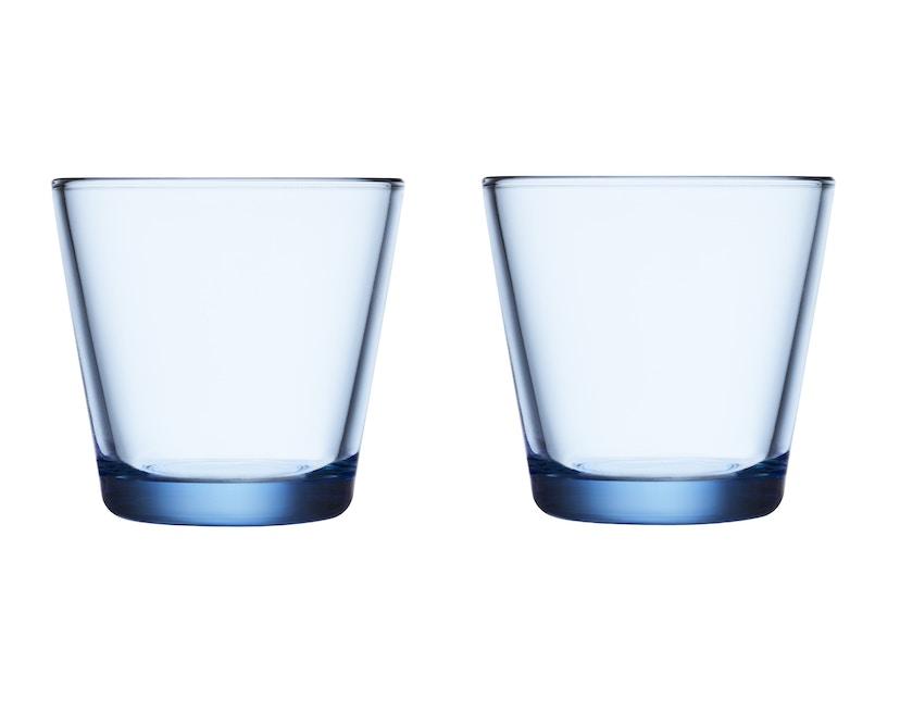 Iittala - Kartio 2er Set Glas, 0,2l - aqua - 2