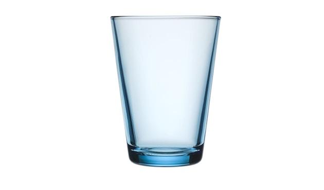 Iittala - Kartio 2er Set Glas, 0,4l - hellblau - 2