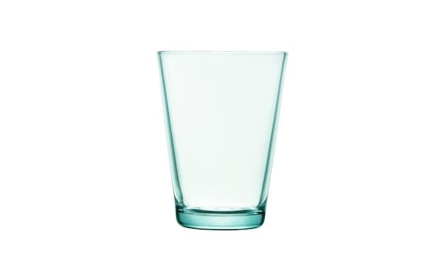 Iittala - Kartio 2er Set Glas, 0,4l - wassergrün - 2
