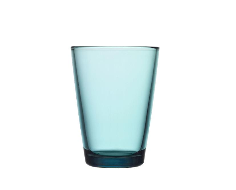 Iittala - Kartio 2er Set Glas, 0,4l - seeblau - 2