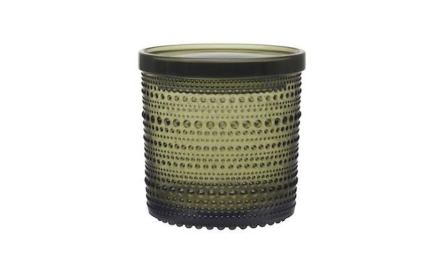 Iittala - Kastehelmi Dosen, 11,6x11,4cm - moosgrün - 1