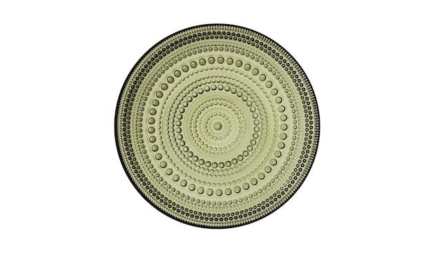 Iittala - Kastehelmi Teller, 17cm - moosgrün - 2