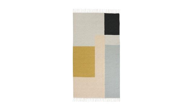 ferm LIVING - Kelim Teppich - S - squares - 1
